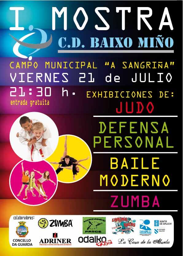 Infominho - I Mostra CD Baixo Miño esta noche en A Guarda - INFOMIÑO - Informacion y noticias del Baixo Miño y Alrededores.