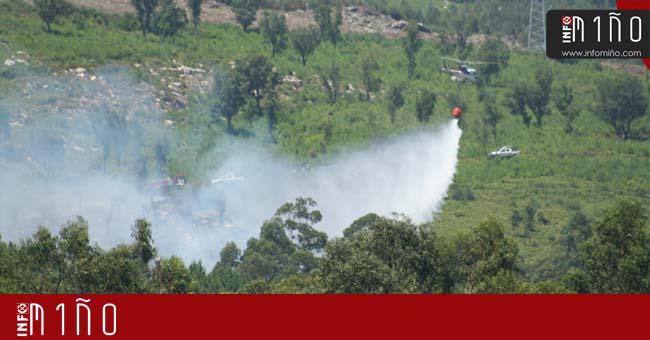 Infominho - Controlado un incendio forestal en O Rosal - INFOMIÑO - Informacion y noticias del Baixo Miño y Alrededores.