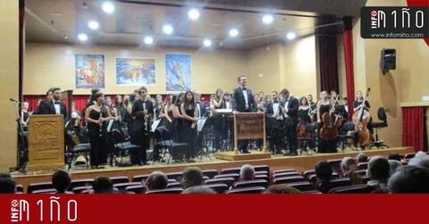 Infominho - Especial - Concerto da Banda da Agrupación Musical do Rosal - INFOMIÑO - Informacion y noticias del Baixo Miño y Alrededores.
