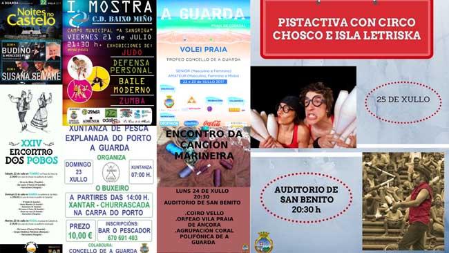 Infominho - Música, deporte e espectáculos enchen a programación cultural da Guarda dende o venres e ata o Día de Galicia  - INFOMIÑO - Informacion y noticias del Baixo Miño y Alrededores.
