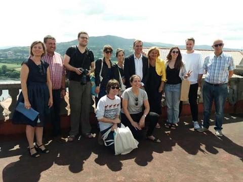 Infominho -  Xornalistas internacionais participan nun Press Trip visitando a Cidade de Tui - INFOMIÑO - Informacion y noticias del Baixo Miño y Alrededores.