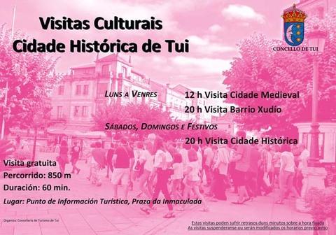 Infominho - Comezan as visitas culturais á cidade histórica de Tui - INFOMIÑO - Informacion y noticias del Baixo Miño y Alrededores.