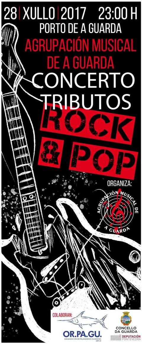 Infominho - Concerto de Tributos Rock & Pop da Agrupación Musical da Guarda - INFOMIÑO - Informacion y noticias del Baixo Miño y Alrededores.
