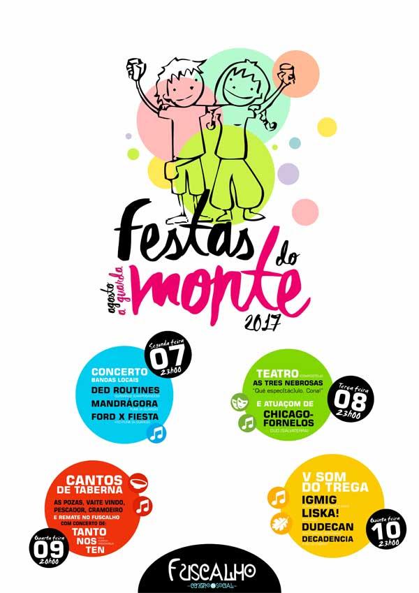 Infominho - Programación no CS Fuscalho nas Festas do Monte 2017 - INFOMIÑO - Informacion y noticias del Baixo Miño y Alrededores.