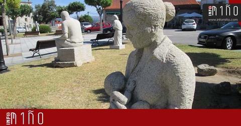 Infominho -  Especial - Exposición de esculturas en la Plaza del Calvario de O Rosal - INFOMIÑO - Informacion y noticias del Baixo Miño y Alrededores.