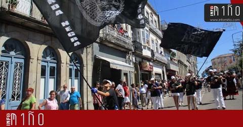 Infominho - A Banda Negra, a máis antiga das participantes nas Festas do Monte da Guarda, cumpre 50 anos - INFOMIÑO - Informacion y noticias del Baixo Miño y Alrededores.