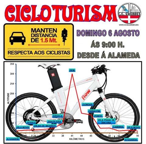 Infominho - Salida del Club Ciclista Guardés este domingo 6 de agosto - INFOMIÑO - Informacion y noticias del Baixo Miño y Alrededores.