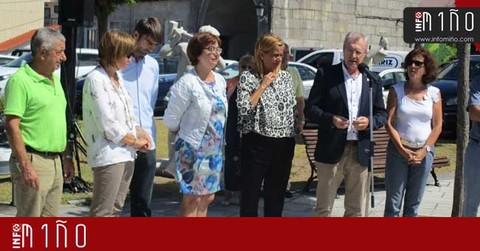 Infominho -  Especial - Carmela Silva inauguró en O Rosal la exposición -Nado en Pedra- - INFOMIÑO - Informacion y noticias del Baixo Miño y Alrededores.