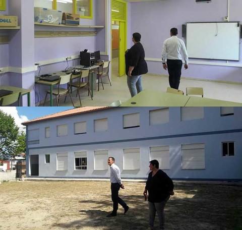 Infominho -  O Concello de Tui inviste máis de 100 mil euros nos centros educativos - INFOMIÑO - Informacion y noticias del Baixo Miño y Alrededores.