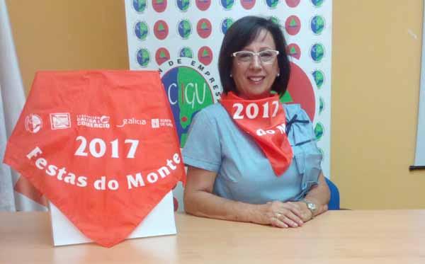Infominho - ACIGU CCA entrega sus pañoletas de las Fiestas del Monte Santa Tegra 2017 - INFOMIÑO - Informacion y noticias del Baixo Miño y Alrededores.