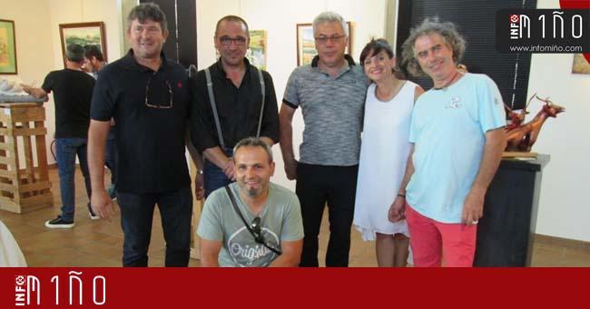 Infominho - Especial - El colectivo SomosArte expone en el Centro Cultural de A Guarda - INFOMIÑO - Informacion y noticias del Baixo Miño y Alrededores.