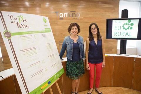 Infominho - Presentación da Escola Eu Rural e do itinerario de actividades para 2017 -Cos pés na terra- - INFOMIÑO - Informacion y noticias del Baixo Miño y Alrededores.