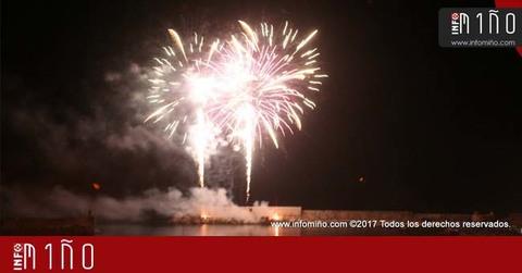 Infominho - Especial - Fuegos artificiales para despedir las Fiestas del Monte en A Guarda - INFOMIÑO - Informacion y noticias del Baixo Miño y Alrededores.