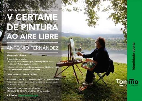 Infominho - Tomiño acolle este domingo o V Certame de Pintura ao aire libre Antonio Fernandez - INFOMIÑO - Informacion y noticias del Baixo Miño y Alrededores.