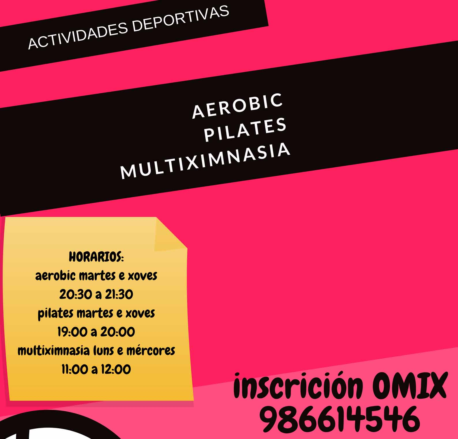 Infominho - Aberto o prazo de inscrición nas actividades deportivas anuais para adultos na Guarda - INFOMIÑO - Informacion y noticias del Baixo Miño y Alrededores.