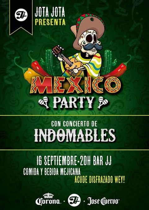 Infominho - Fiesta Mexicana este sábado en Jota Jota O Rosal - INFOMIÑO - Informacion y noticias del Baixo Miño y Alrededores.