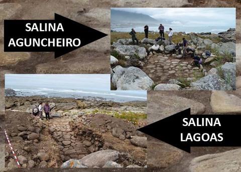Infominho - Intervención arqueolóxica nas espectaculares salinas romanas descubertas este ano en Viladesuso e Mougás en Oia - INFOMIÑO - Informacion y noticias del Baixo Miño y Alrededores.