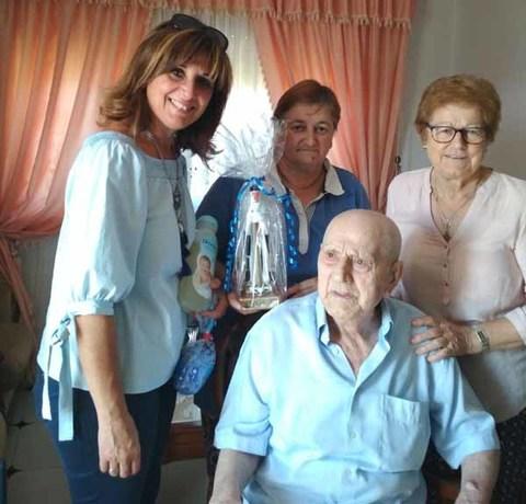 Infominho - O Concello do Rosal fai unha homenaxe a dúas persoas centenarias do municipio - INFOMIÑO - Informacion y noticias del Baixo Miño y Alrededores.