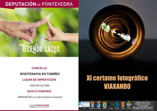 Infominho - Cursos de Risoterapia  y Concurso de Fotografía en Tomiño - INFOMIÑO - Informacion y noticias del Baixo Miño y Alrededores.