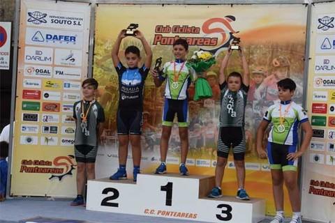Infominho -  O ciclista rosaleiro Pablo Rodríguez vencedor no Trofeo Festas de Setembro en Ponteareas - INFOMIÑO - Informacion y noticias del Baixo Miño y Alrededores.