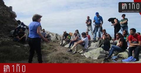 Infominho -  Especial - A Jalleira AFEA organizou este domingo unha Excursión xeolóxica en Portecelo (O Rosal) - INFOMIÑO - Informacion y noticias del Baixo Miño y Alrededores.