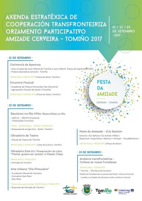 Infominho -  Cerveira e Tomiño celebran esta fin de semana a primeira Festa da Amizade - INFOMIÑO - Informacion y noticias del Baixo Miño y Alrededores.