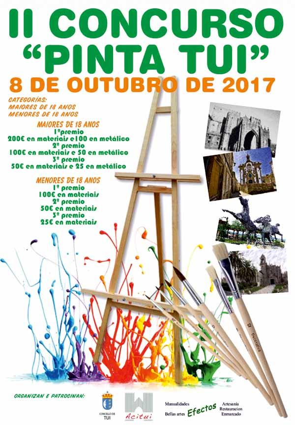 Infominho - O domingo 8 de outubro celebrarase o II Concurso de Pintura ao aire libre -Pinta Tui- - INFOMIÑO - Informacion y noticias del Baixo Miño y Alrededores.