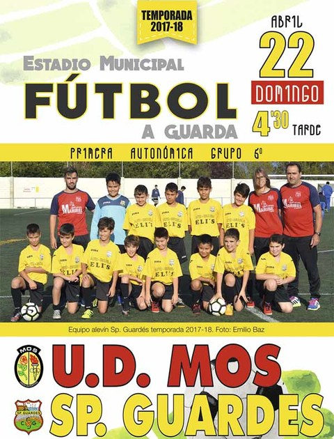 71ad8611ae Infominho - Este domingo en A Sangriña UD Mos - Sporting Guardés - INFOMIÑO  - Informacion
