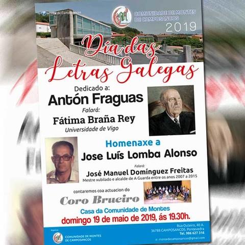 280763660482 Infominho - A Comunidade de Montes de Camposancos celebra o Día das Letras  Galegas este domingo